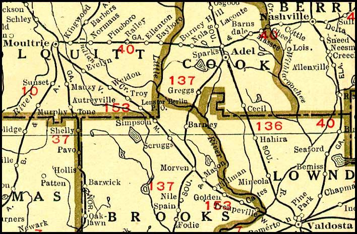 VM&W RR Map 1920