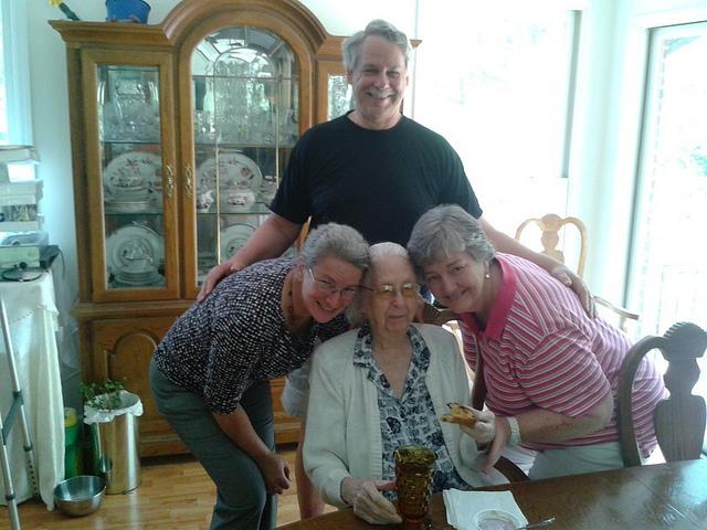 Patrick, Gretchen, Elsie, Ann