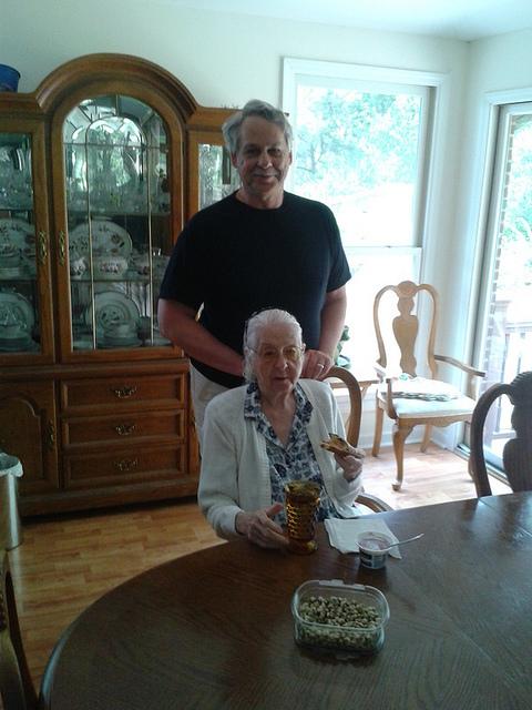 Elsie and her nephew Patrick Quarterman