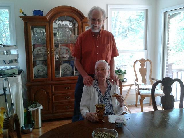 Elsie and her nephew John S. Quarterman